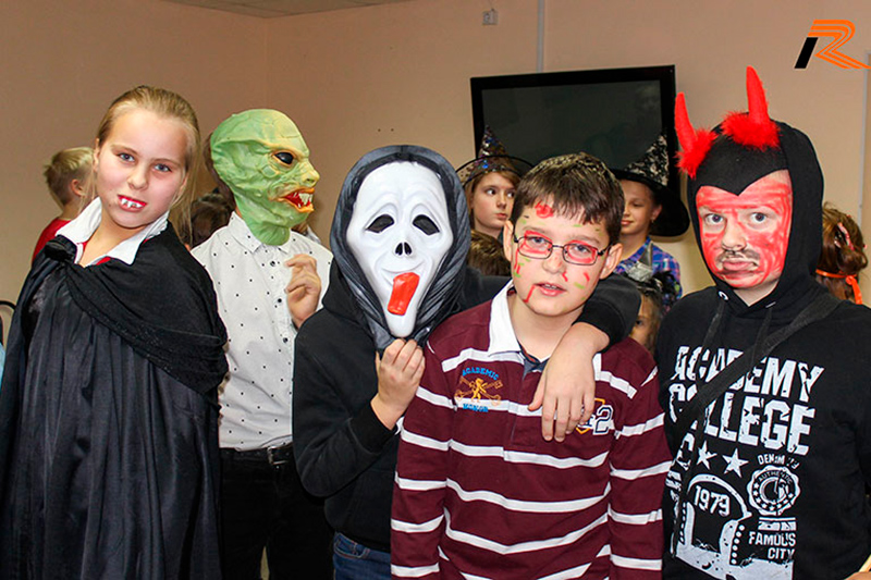 Репортаж о Halloween Party 2015